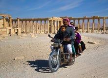 Syrien Palmyra Stockbild