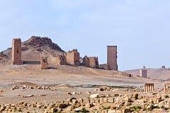 Syrien - Palmyra (Tadmor) Stockfotografie
