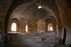 Syrien - Saladin Schloss (Qala'at Salah Anzeige Lärm) Lizenzfreie Stockbilder