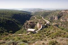 Syrien - Saladin Schloss (Qala'at Salah Anzeige Lärm) stockfoto