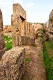 Syrien-- Tartus alter Platz Amrit Stockfoto
