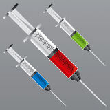 Syringe 1 Royalty Free Stock Photography