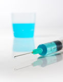 Syringe stock photography