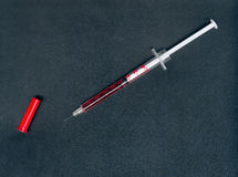 Syringe Royalty Free Stock Photography