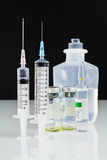 Syringe and drug Stock Photography