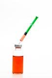Syringe and drug Royalty Free Stock Photography