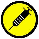 Syringe Information Stock Photo