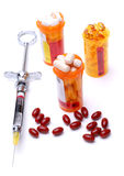Syringe and Medicine Stock Images