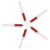 Syringe with medicine Royalty Free Stock Images