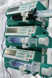 Syringe pumps Royalty Free Stock Photos
