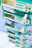 Syringe pumps Stock Photo