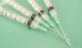 Syringes Royalty Free Stock Photography