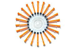 Syringes Royalty Free Stock Photo