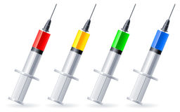 Syringes. Royalty Free Stock Photo