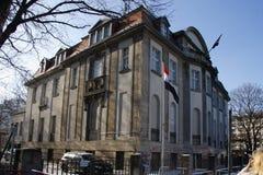 Syrische Ambassade Berlijn Royalty-vrije Stock Foto