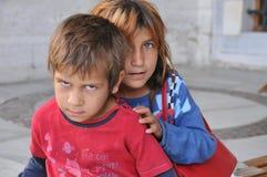 Syrische kinderen Stock Foto