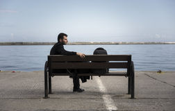 Syrischer Flüchtling Stockfotografie