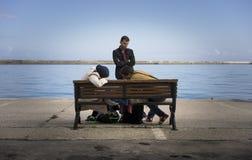 Syrischer Flüchtling Lizenzfreies Stockbild