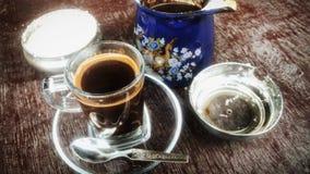 Syrischer Kaffee Lizenzfreie Stockfotografie