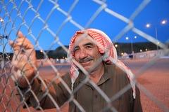 Syrisches Flüchtlingslager Stockfoto