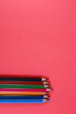 Syrlig bakgrundsfärg ritar bakgrund i stil för popkonst Royaltyfri Bild