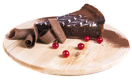 syrlig cakechoklad arkivbilder