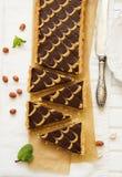 Syrlig choklad Arkivfoton