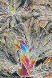 syrlig citric kristallmakro Royaltyfria Bilder