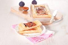 syrlig gourmet- platta för figs Fotografering för Bildbyråer