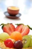 syrlig tea för frukt royaltyfri foto