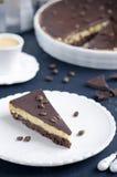 Syrliga choklad och kaffe Arkivfoton