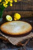 Syrliga citron och almon Royaltyfria Bilder