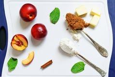 Syrliga ingredienser för frukt Royaltyfri Foto
