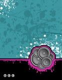 syrliga klubbahögtalare vektor illustrationer