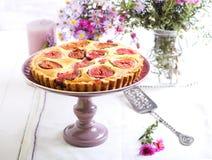 Syrliga mandel och fikonträd Royaltyfria Bilder