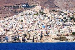 Syros海岛在希腊 图库摄影