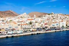 Syros海岛在希腊 库存图片