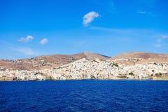 Syros海岛在希腊 库存照片