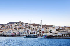 Syros (Ermoupoli) Island, Greece Royalty Free Stock Photos