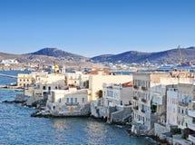 Syros (Ermoupoli) Island, Greece Stock Image