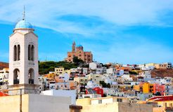 Syros, Greece. Beautiful cityscape of Syros, Greece Royalty Free Stock Photos