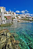 Syros island. Travel in Greek islands - Syros, Cyclades Stock Photo