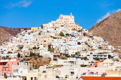 Syros island in Greece Stock Photography