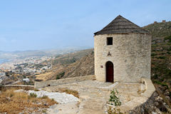 Syros island in Greece Royalty Free Stock Images