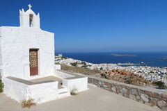 Syros island in Greece Stock Images