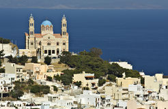 Syros island in Greece Stock Image