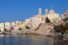 Syros island in Greece Royalty Free Stock Photos