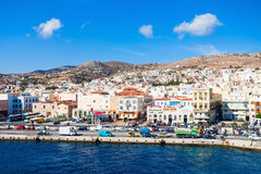Syros island in Greece Royalty Free Stock Photo