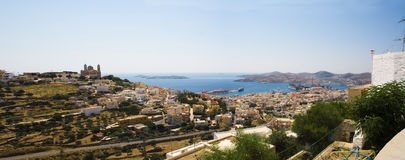 Syros town Royalty Free Stock Image
