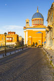 Syros. Vaporia district of Ermoupoli town on Syros island Stock Image
